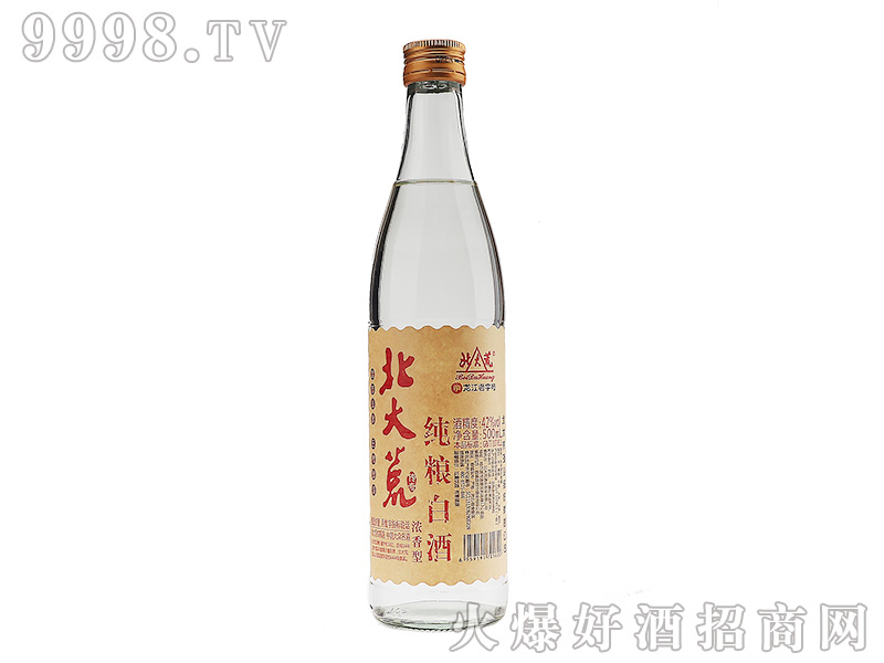 北大荒纯粮白酒浓香型【42度500ml】